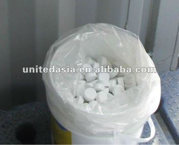calcium hypochlorite 70% 20g tablet for pool chemicals