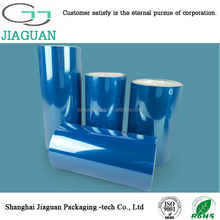 wholesale vivid blue film for protective film(JG-BPET100R30)