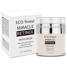 Retinol Moisturizer Cream for Face, With Hyaluronic Acid, Vitamin E and Green Tea