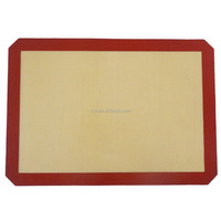 "Silicone Baking Mat - for Lining Pastry Pans - Non ick Surface Sheet Makes Baking Easy 16-1/2""x24-1/2"""