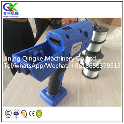 Construction tools automatic rebar tying machine with compact structure