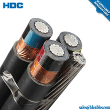 11 KV XLPE insulation Aerial bundled ABC cable
