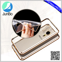 Alibaba express China electroplating TPU back cover case for Meizu Pro 5
