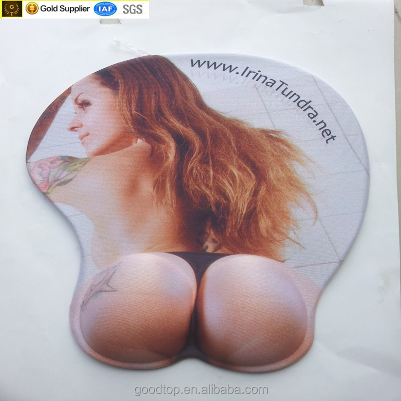 Sexy Big Ass Mouse Pad 3D Sexy Girl custom Mousepad with Wrist Rest