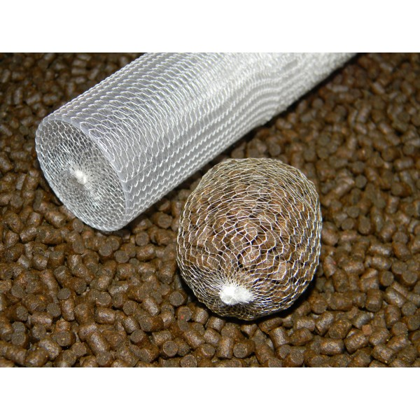 Plastic Tube with plunger PVA mesh carp fishing