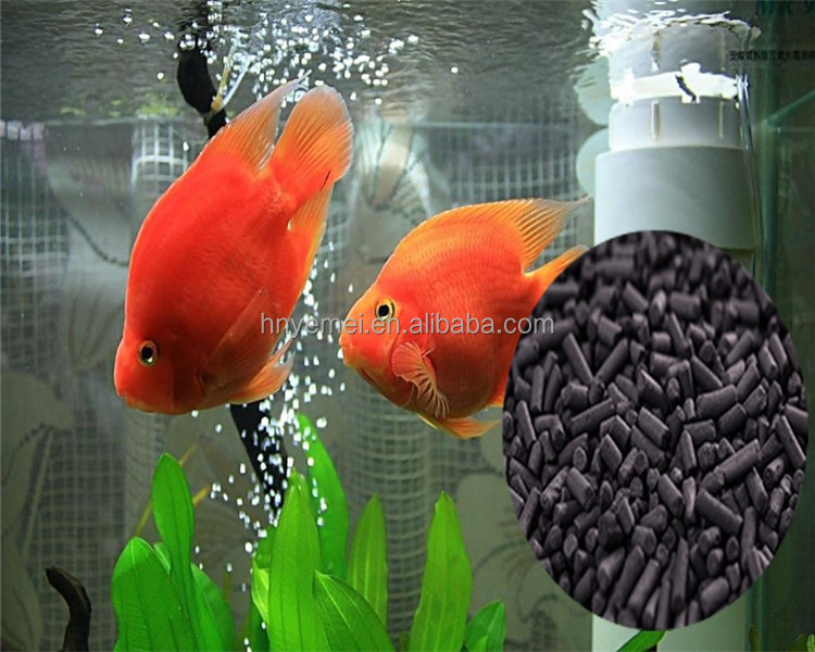 Coconut Shell Pellet /Granule Activated Carbon For Fish Tank Aquarium Water Filter Cartridges