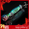 NOEBY OEM 3D color lifelike top water popper floating baits