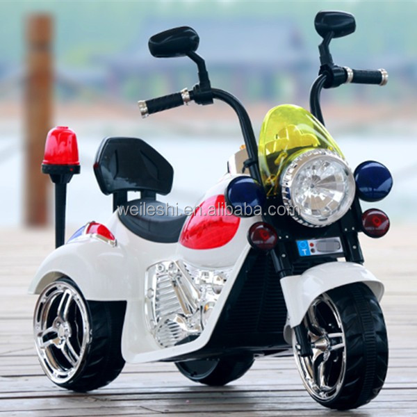 Ride On Kids 3 Wheel Power Motorcycle 6V Toy Battery Powered Electric Car
