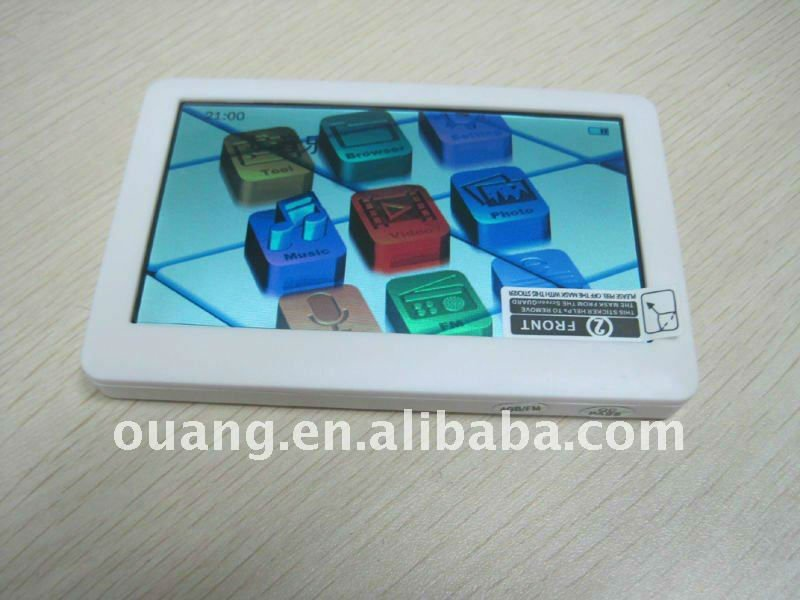 4.3 inch touch screen games Mp5 player AS-4304 with 1.3 megapixels camera