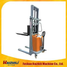 2016 2.0T Heavy-duty High Lifting Fork Semi Electric Stacker &Reclaimer widely used in warehouse/factory/supermarket