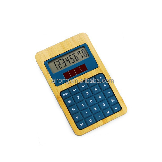 Hairong eco friendly kids love cute small size desktop calculator