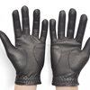 Golf Gloves Black Thickening Sheepskin Gloves