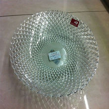 lead free crystal glass charger plates wholesale
