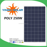 2015 China Yingli solar stocks near to YIWU 260W YL260P-29b