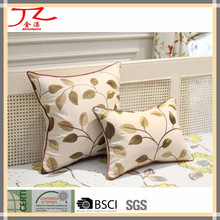 decorative cotton embroidery cushion covers and sofa cushions
