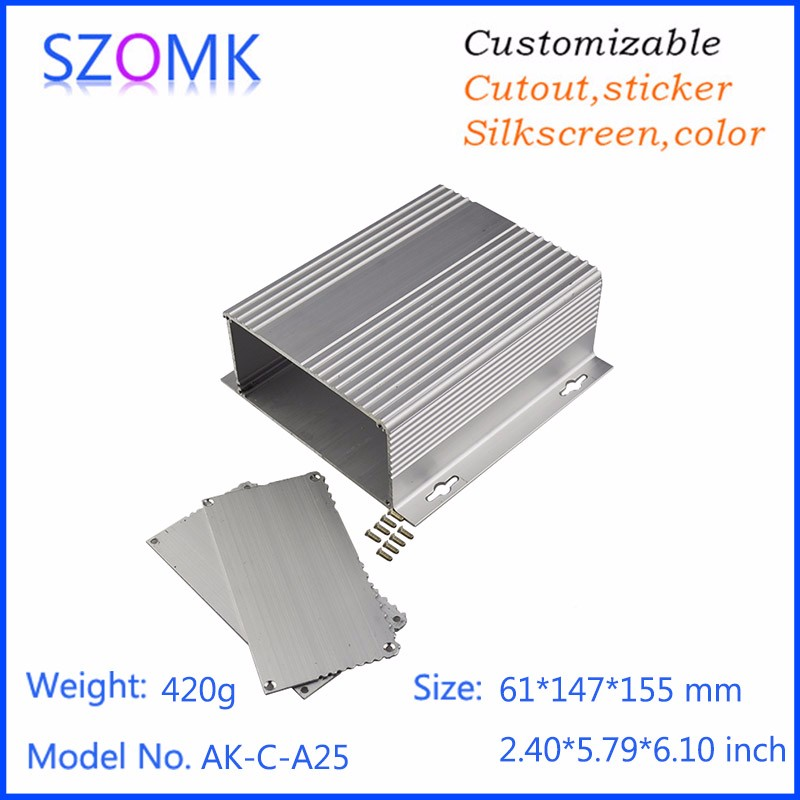 electronic product aluminum cases for equipment aluminuim enclosures