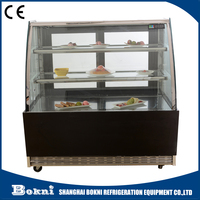 Italian Ice Cream Freezer Showcase Refrigerated