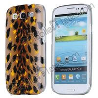 Leopard Pattern Protective Back Hard Case for Samsung Galaxy S3 I9300 Special Gorgeous PC Case Butterfly Pattern