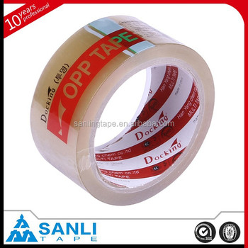 BOPP Material Brown Packaging Tape With no bubble