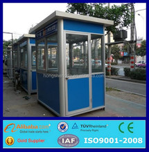 cheap prefab mobile portable security guard booth guard house design