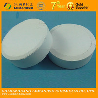 TCCA 90/ biocide/water treatment chemcial/swimming pool biocide/CHLORINE 90% Tablets from EL