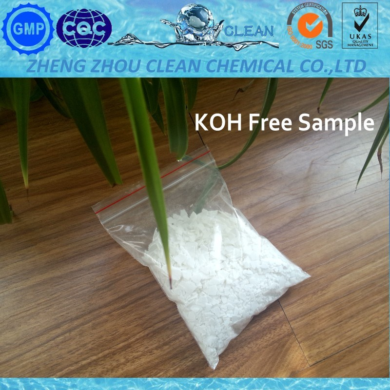 Potassium Hydroxide KOH 90% for Making Soap