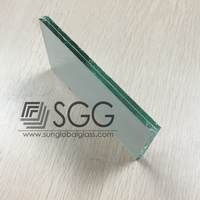 High quality 6.38mm fabric laminated glass manufacturer