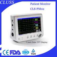 Multi-parameter patient monitor price CLS-PM02 multi parameter patient monitor portable patient monitor