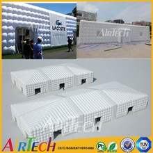 big new design inflatbale party tent for outdoor event of cube