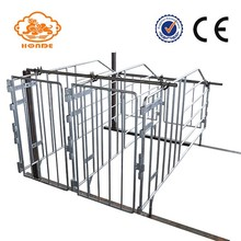 China Manufactuer SST 304 Automatic Welding Breeding Pig Cage For Pig Small Farm Equipment