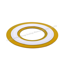 DIN standard inner and outer ring asme b16.2 spiral wound gasket
