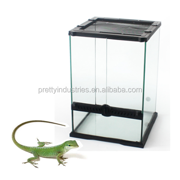 Hot selling Glass reptile breeding cages