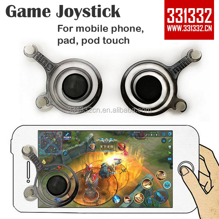 Hand touch screen Joystick dual analog Mobile phone Joystick for smart phone tablet pad pod gaming touch