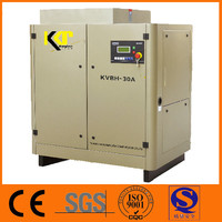 Electric Variable screw air compressor for Blowing machine