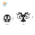 Unique Design 415 Folding Drone Wifi FPV HD Camera 3D Flip Rc Quadcopter One Key Return