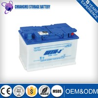 DIN66 12V 70AH Dry Charged Lead Acid Car Battery