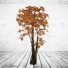 Artificial Chinese Lucky Maple Tree For House Garden Decoration