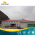 sandwich panel steel structure prefab house for dormitory