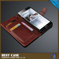 china wholesale flip leather case wallet stand cover case for lenovo vibe p1