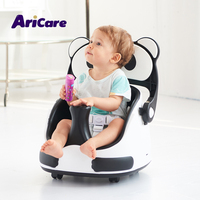 Best affordable white black plastic dinning feeding baby sitting chair