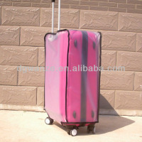 Custom Cover Luggage PVC Plastic Luggage