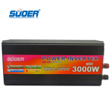 Suoer Factory Price DC 24v To AC 220v 3000 Watt Power Inverter with charger
