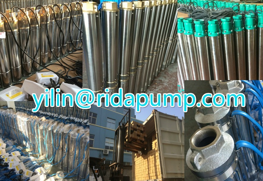 3 .QJD &SDM / Submersible deep well pumps / 220V ~ 380V 50HZ
