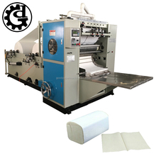 Spray facial paper equipment embossed folding face tissue making machinery