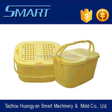 pvc plastic injection mold basket with <strong>hole</strong>