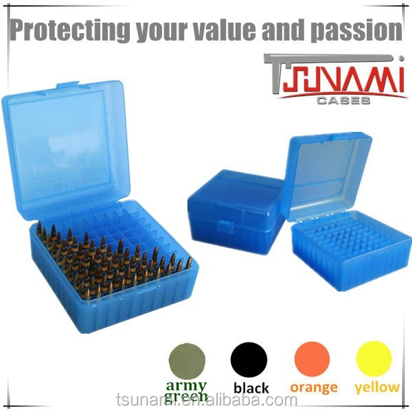 ammunition machine plastic ammo case 100 round ammo can ammo safes (TB-907)