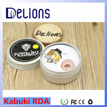 2016 Alibaba hot design kabuki rda/Goon rda/skill rda 1:1 clone with factory price from Delions tech