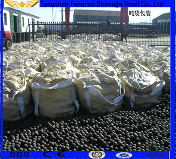 High chrome cast grinding media balls/hot rolling/forged steel balls for ball mill