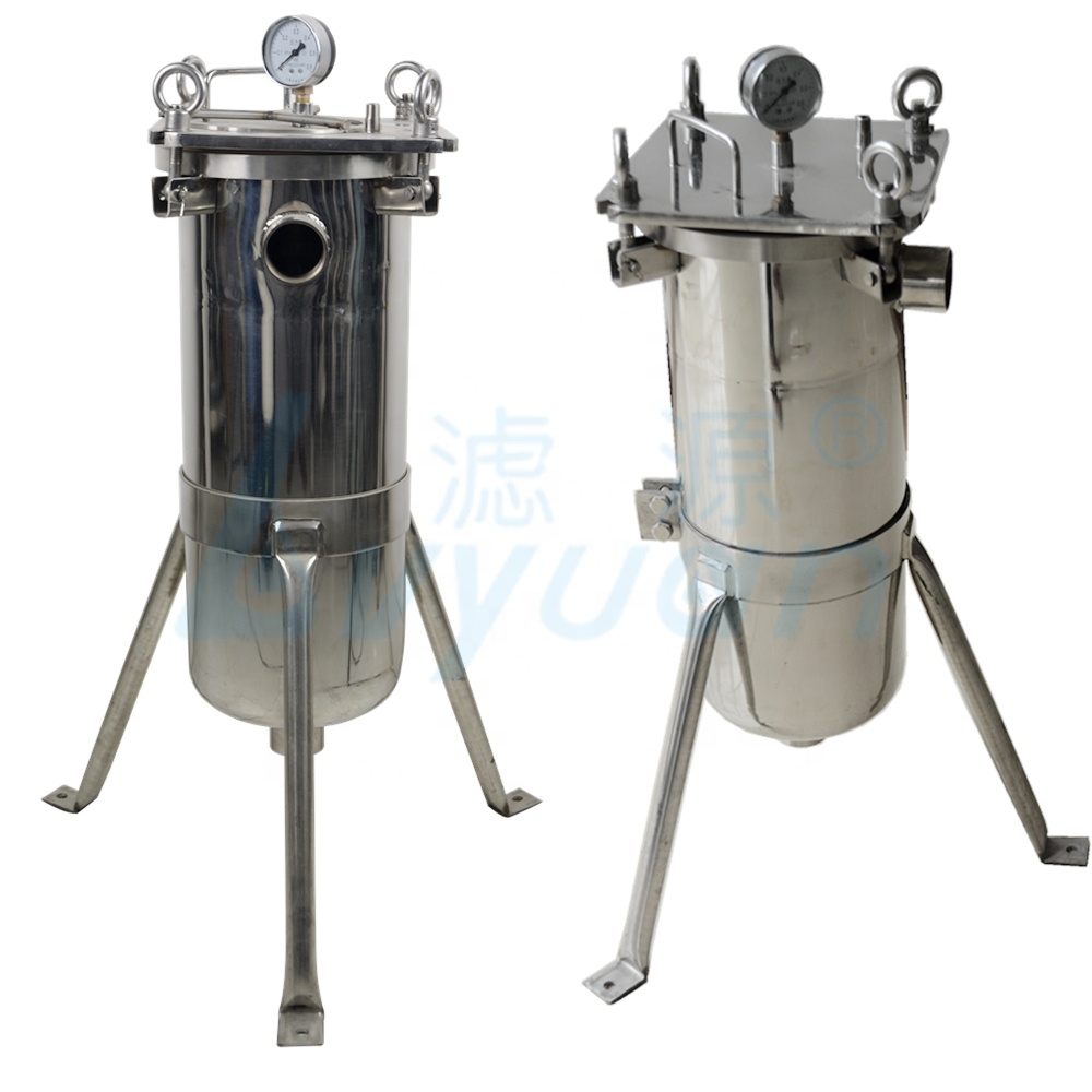 stainless steel 304 316 Liqud Bag Filter Housing water filter for Food and Beverage Industry