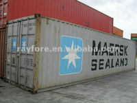 40 GP used ISO container sea shipping container